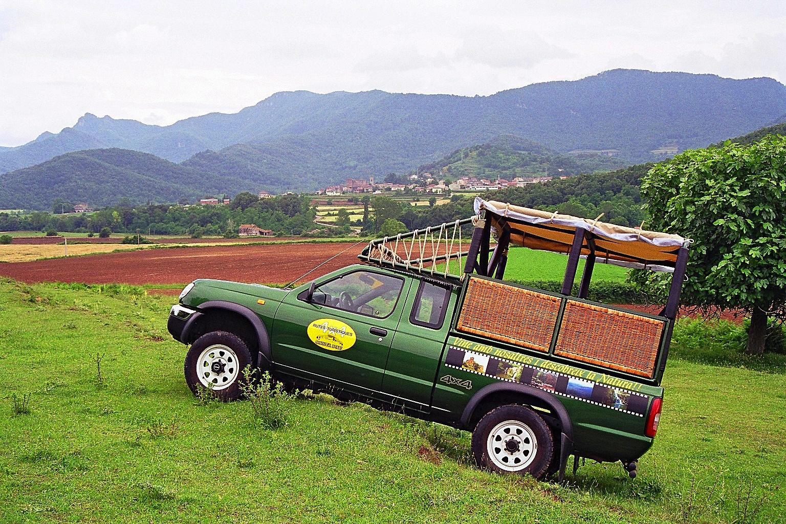 Tourist routes 4×4 per the Garrotxa